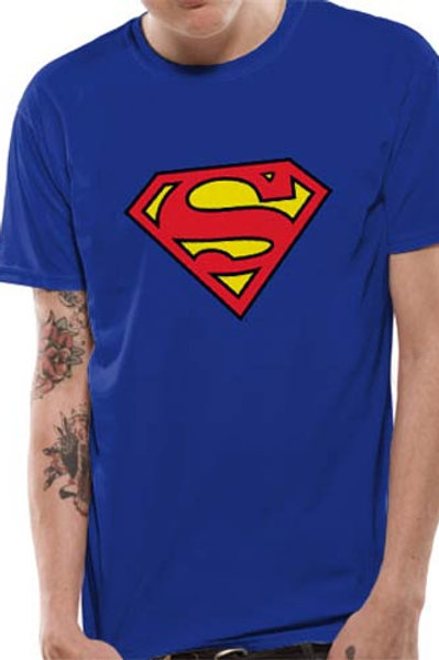 Superman Blue Logo T-Shirt