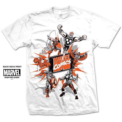 Marvel Montage T-Shirt