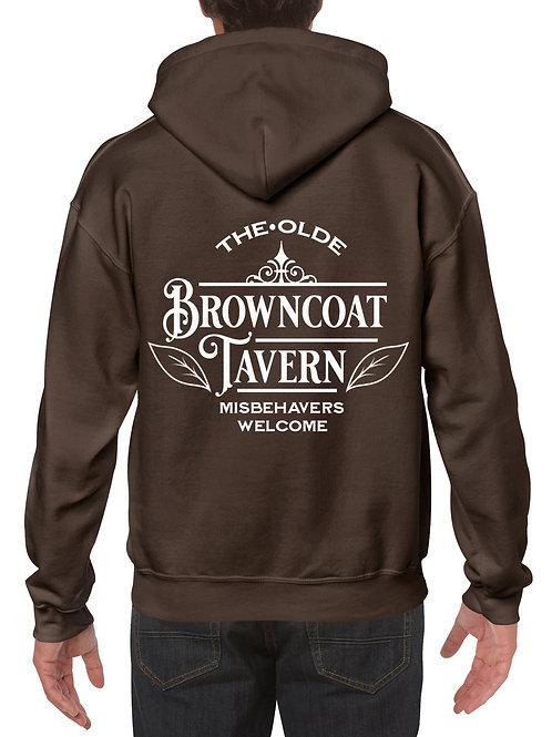 Browncoat Tavern Dark Chocolate Hoodie