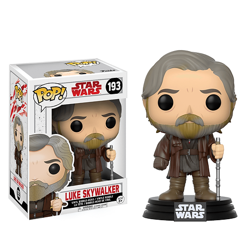 Luke Skywalker The Last Jedi Funko Pop
