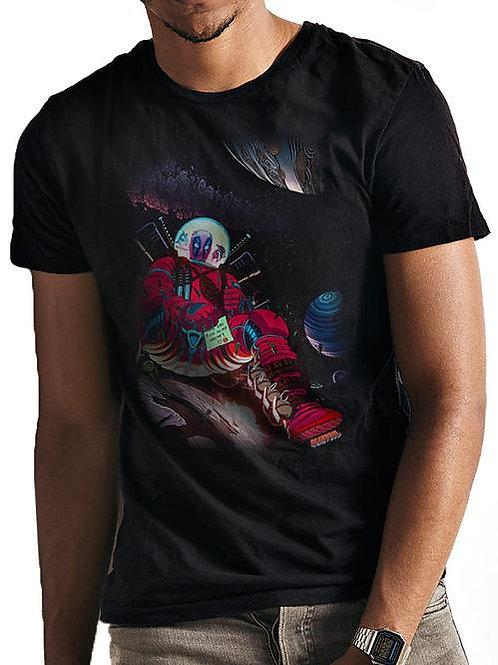 Deadpool Astronaut T-Shirt