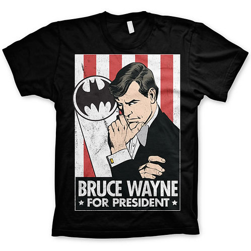 Batman Bruce Wayne President T-Shirt