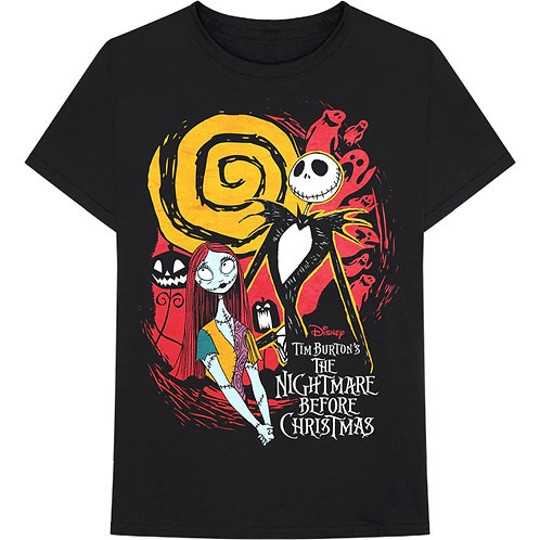 Nightmare Before Christmas Ghosts T-Shirt