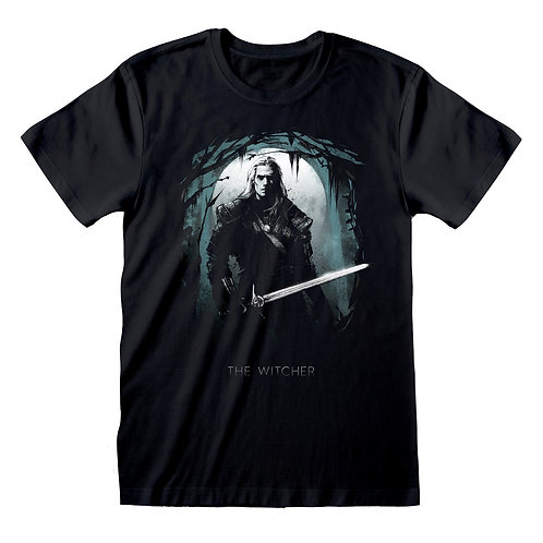 The Witcher - Moon Silhouette T-Shirt