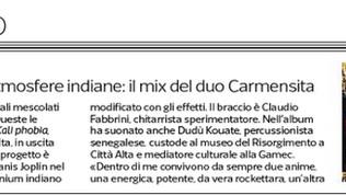 Carmensita - Il Corriere della Sera