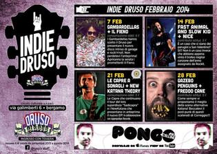 Flyer Indie Druso - Febbraio 2014