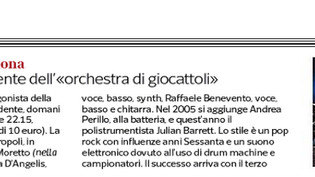Su Il Corriere della Sera...