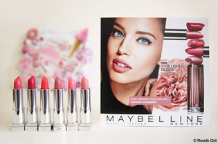 COLOR SENSATIONAL THE BLUSHED NUDES: LE NUOVE 6 NUANCE DI MAYBELLINE
