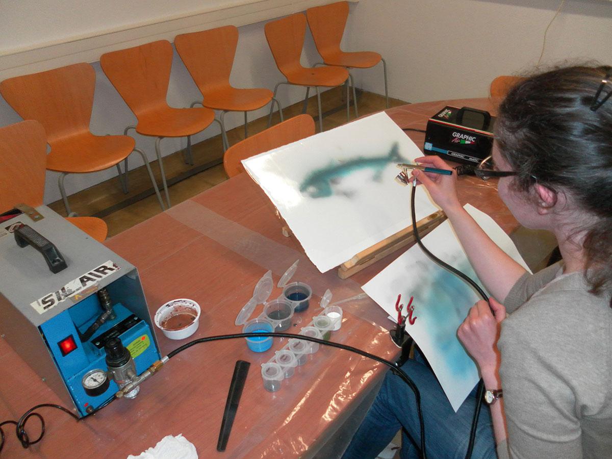 Aerografia - pintura - LIC