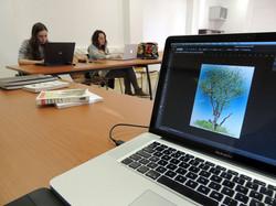 ilustração científica digital 2D