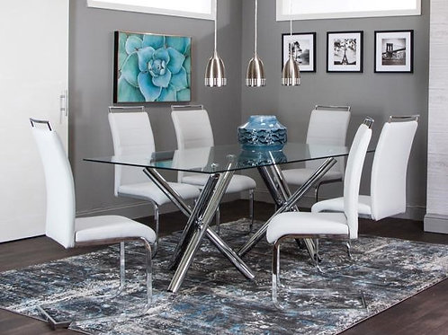 Cramco Mantis 7PC Dining Room Set Only $21.99 per Week