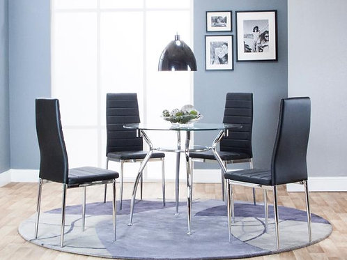 Cramco Delphi 5pc Dining Room Only $8.99 per Week