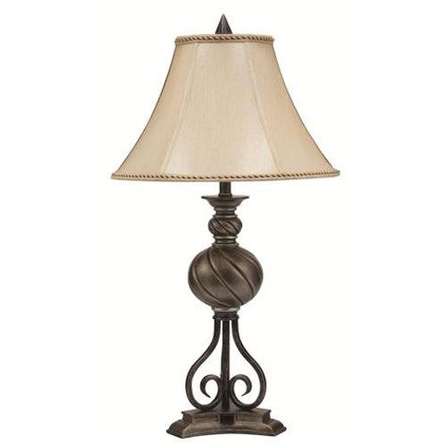 6232T SWIRL BALL LAMP