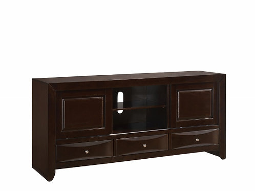B4260-7 EMILY TV STAND DARK Only $10.99 per Week