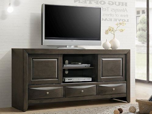 B4270-7 EMILY TV STAND GREY Only $10.99 per Week