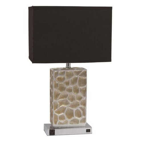 6235T SILVER ROCK LAMP Only $5.99 per Week