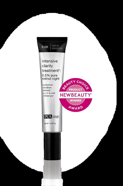Intensive Clarity Treatment®: 0.5% pure retinol night