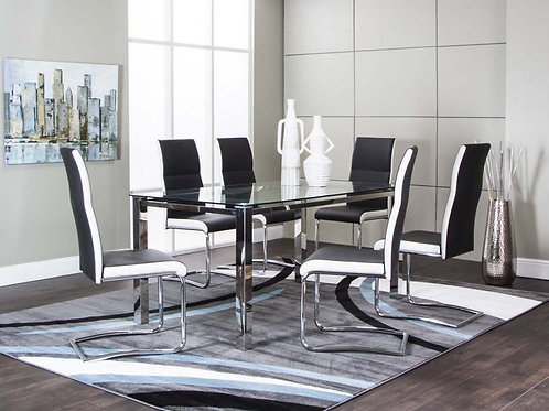 Cramco Styleline 7PC Dining Room Set Only $17.99 per week