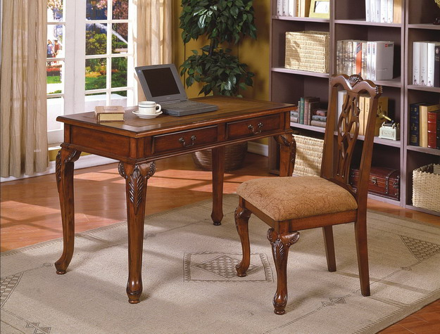 cherry desk and chair