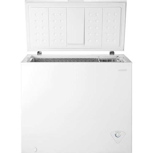 Insignia Chest Freezer Stock Up On Frozen Meals Vegetableore With This Which Features A 7 0 Cu Ft Capacity For Ample Storage And