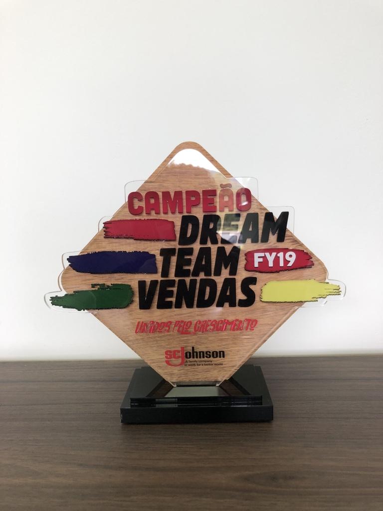 Campeão Dream Team Vendas - FY 19