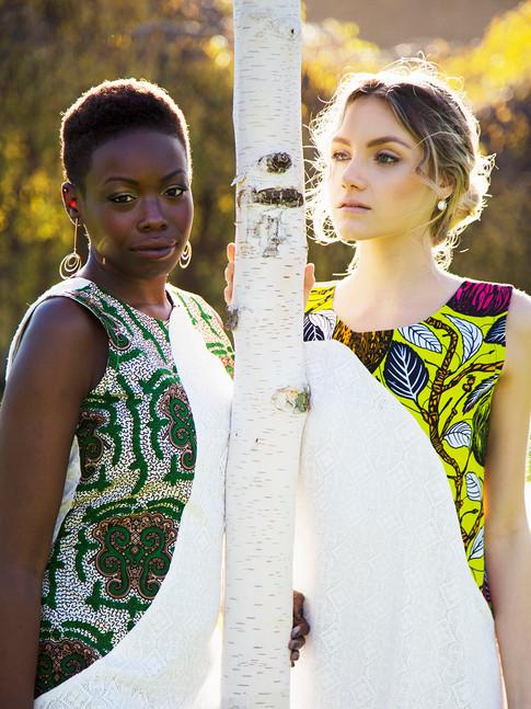 Models: Wendy Kellen & Riana Horner  Photographer: Milly Spooner  Hair & Makeup: Lilia Mullinger