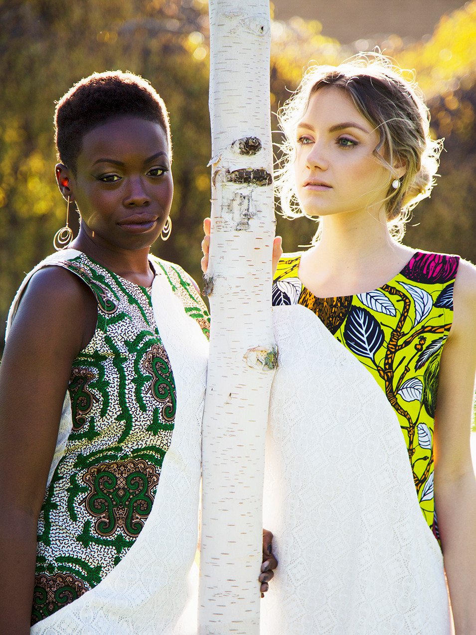 Models: Wendy Kellen & Riana Horner  Photographer: Milly Spooner  Hair & Makeup: Lilia Mullinger