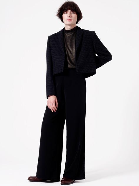 Model: Sam Davies  Photographer: Carly Scott Hair & Makeup: Lilia Mullinger