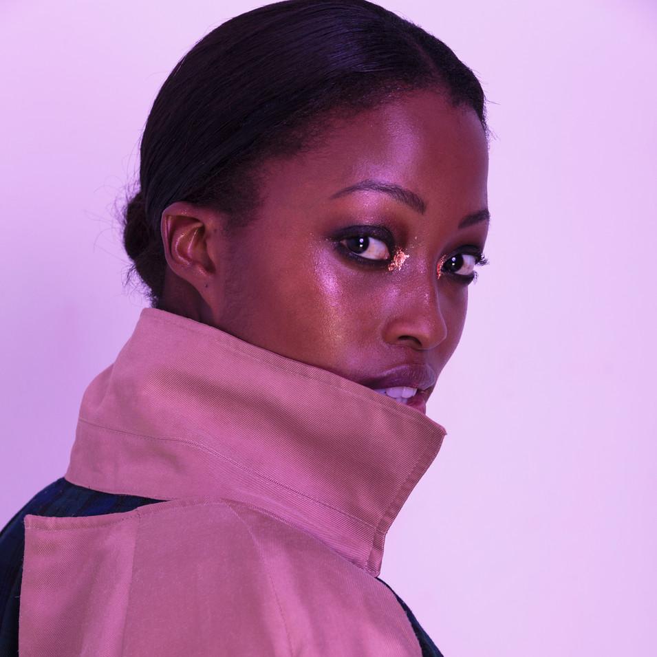 Model: Nyasha Matonhodze  Photographer: Grace Karine Stylist: Milgo Awad  Hair & Makeup: Lilia Mullinger