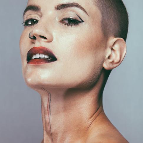 Model: Emilie Largier  Photographer: James Lyndon  Makeup: Lilia Mullinger