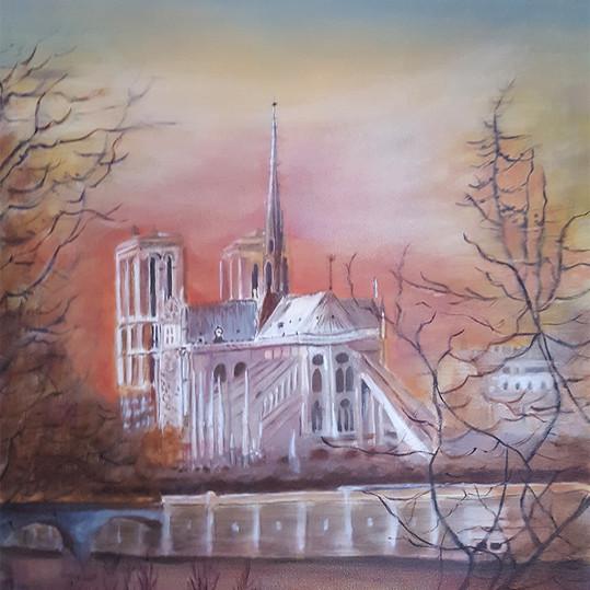 Omen Over Notre Dame