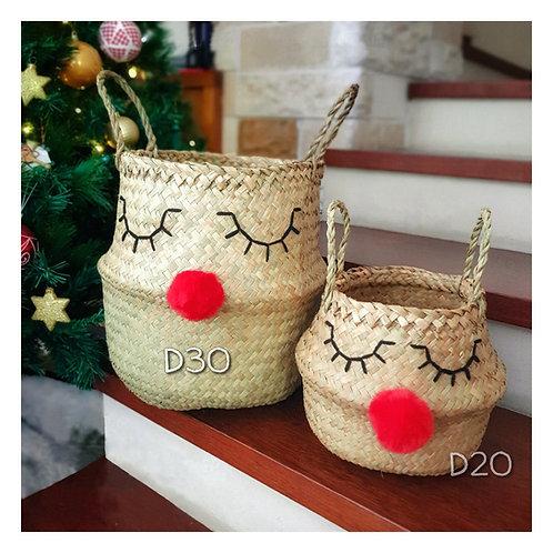 Belly Basket Duo - Reindeer