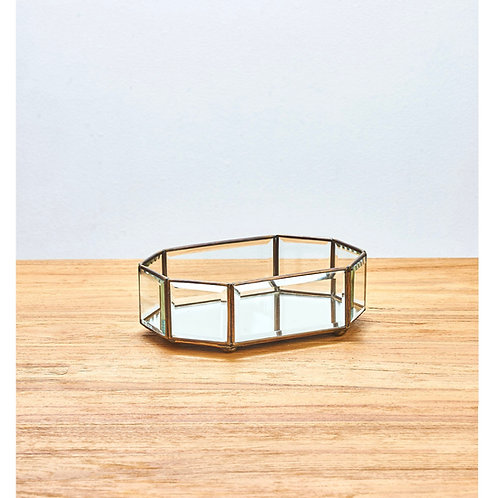 Glass Tray - Octagon