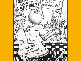 Johnson's Backyard Garden 5k &Spring Picnic Show