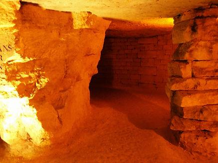 Anciennes carrières catacombes Paris