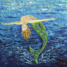 Meerjungfrau: Rückwärts tauchen