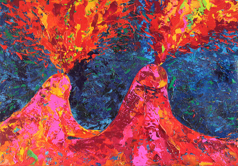 Phallische Vulkane