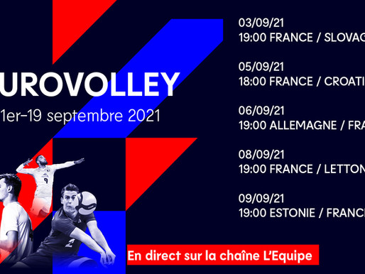 EURO VOLLEY MASCULIN