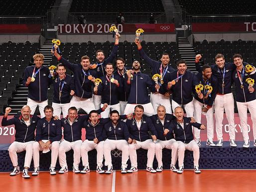 Les Bleus aux Jeux Olympiques de Tokyo