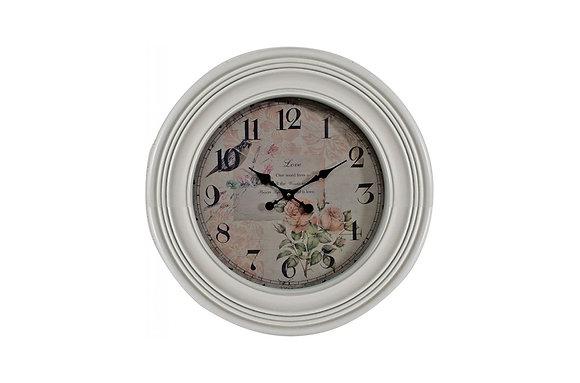 Flowers of Romance Wall Clock