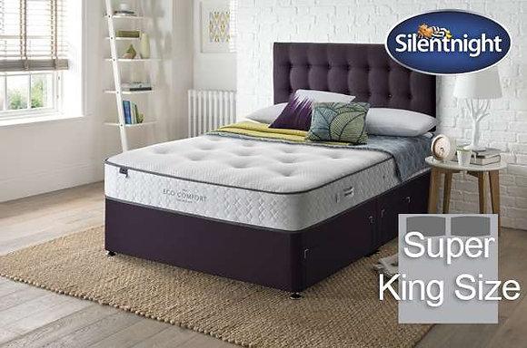 Silentnight Verdi Eco Comfort Mirapocket Super King Size Divan Bed