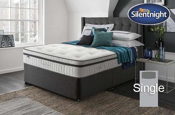 Silentnight Picasso Mirapocket Single Divan Bed with Geltex
