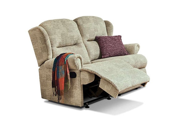 Sherborne Malvern Small 2 Seater Manual Recliner Sofa