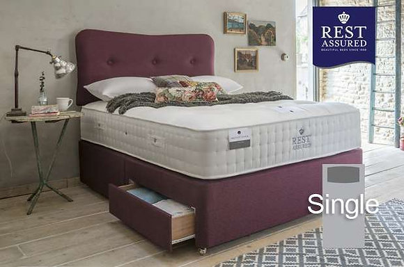 Rest Assured British Wool Softer Comfort Single Divan