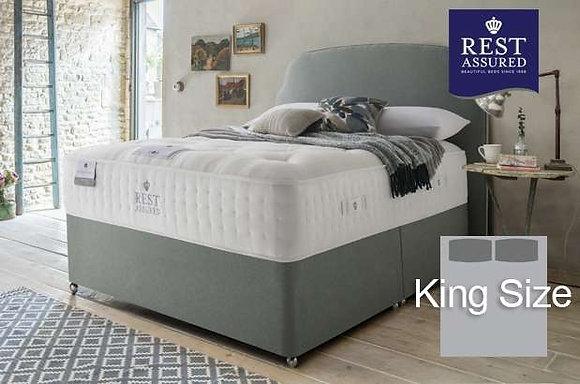Rest Assured British Wool Medium Comfort King Size Divan