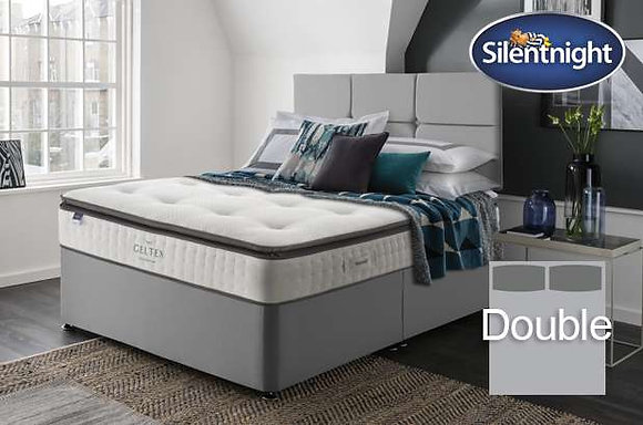 Silentnight Elson Miracoil Double Divan Bed with Geltex