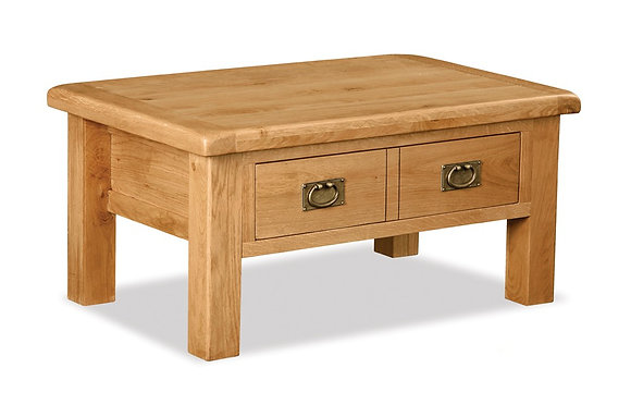 Brecon Large Coffee Table with Drawer