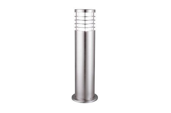 Searchlight Lighting Satin Silver Outdoor Bollard Light
