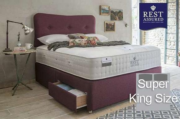 Rest Assured British Wool Softer Comfort Super King Size Divan