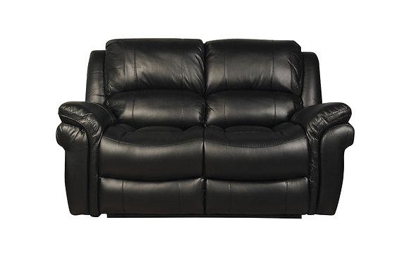 Farnhan 2 Seater Sofa (Leather Look Fabric)